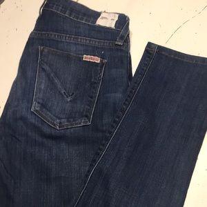 Hudson Colette mid rise skinny jeans 26R